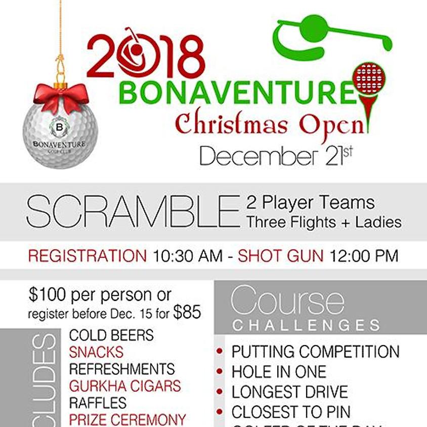 2018 Bonaventure, Christmas Open