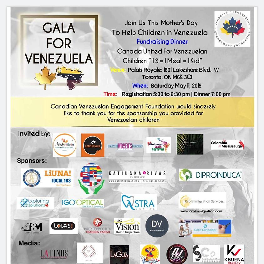 GALA FOR VENEZUELA