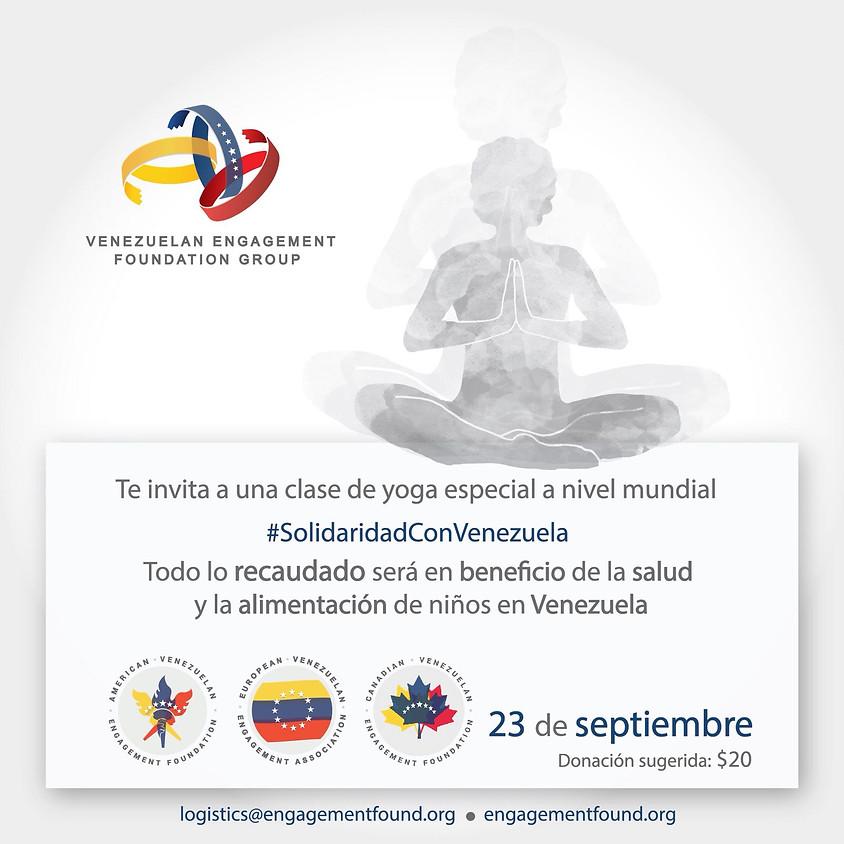 II Encuentro Mundial de Yoga y Meditación por Venezuela
