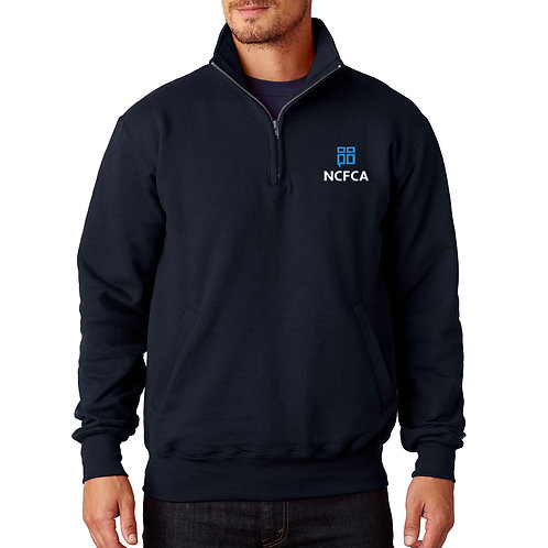 NCFCA Champion Adult 9 oz., Double Dry Eco® QTR-Zip Pullover