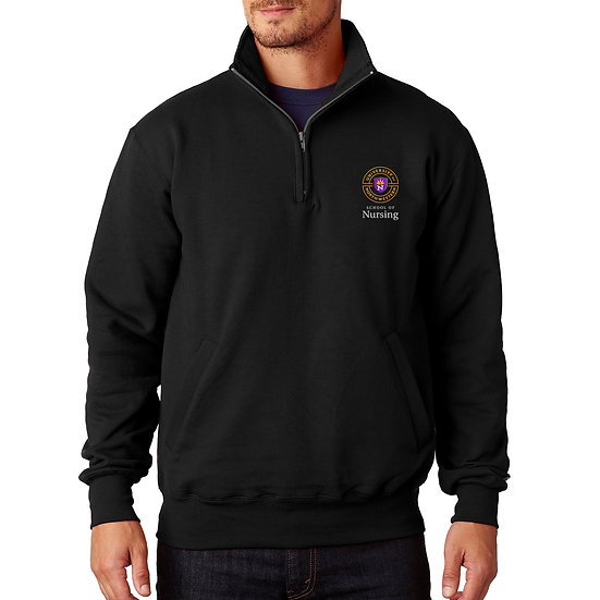 UNW Champion Adult 9 oz., Double Dry Eco® QTR-Zip Pullover