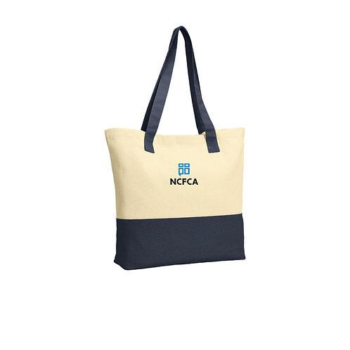 NCFCA Port Authority® Colorblock Cotton Tote