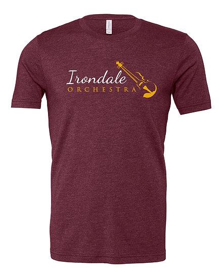 Irondale Orchestra Bella/Canvas Unisex Jersey T-Shirt