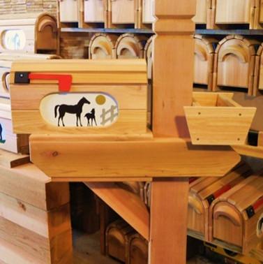 Cedar Mailbox Posts - Enjoy the Natural Beauty of Wood