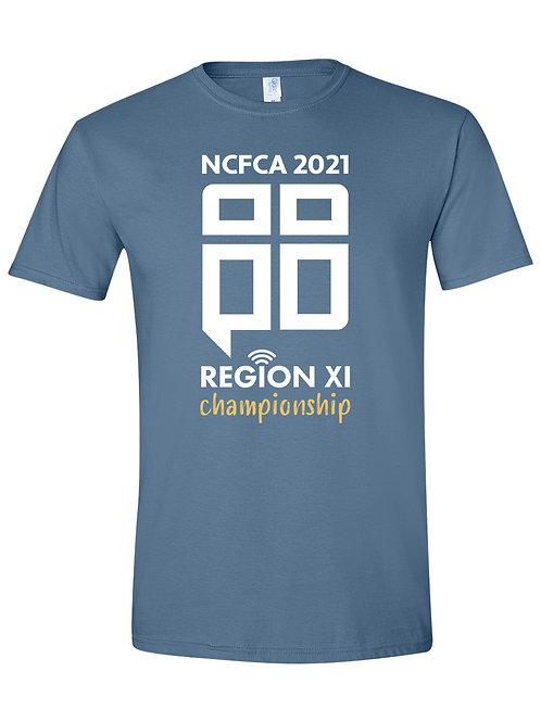 REGION 11 Indigo Blue T-Shirt