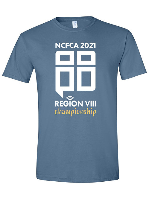 REGION 8 Indigo Blue T-Shirt