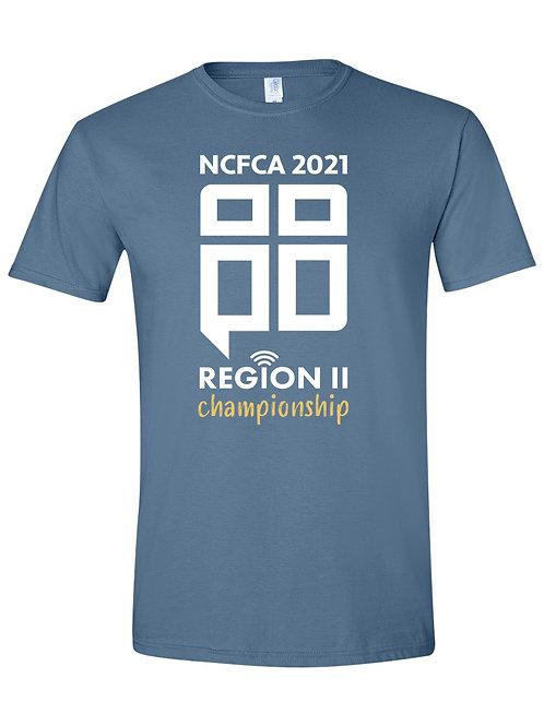 REGION 2 Indigo Blue T-Shirt