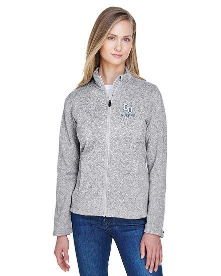 Devin & Jones Mens & Womens Bristol Full-Zip Sweater Fleece Jacket
