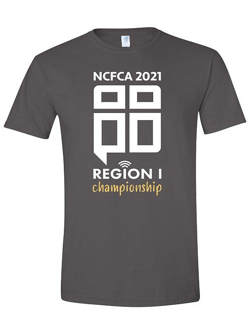 REGION 1 Charcoal T-Shirt