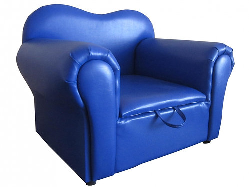 Isabella Kids Sofa PU Blue