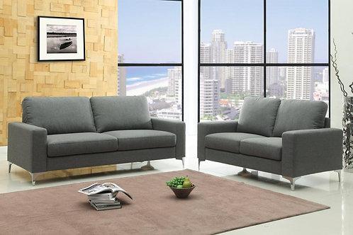 Sally Fabric 3 Seater Sofa