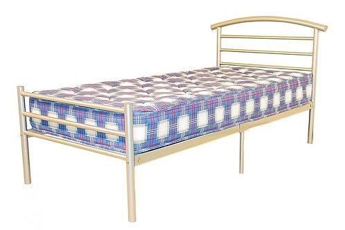 Brenington Double Bed Silver
