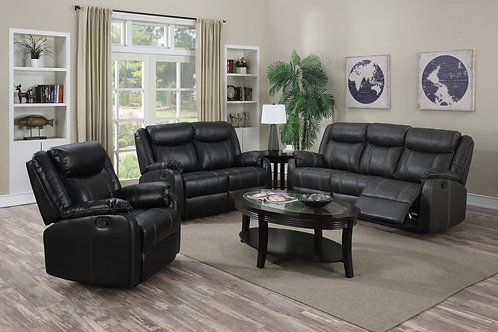Leeds Recliner LeatherLux & PU 1 Seater