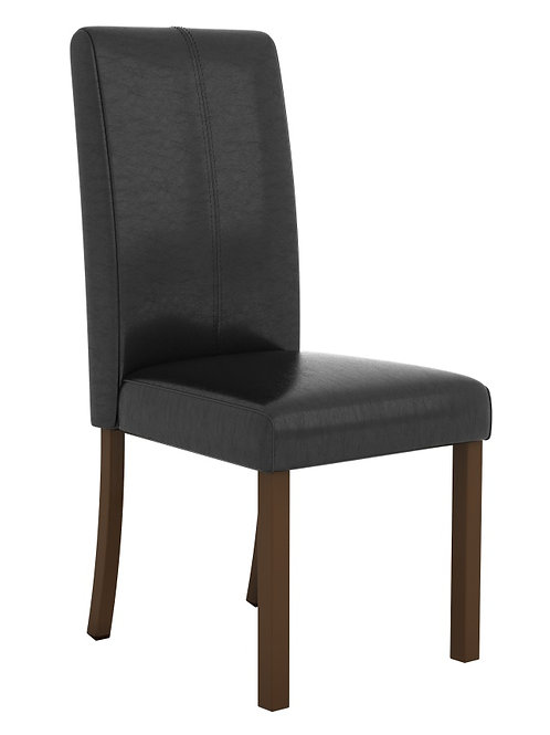 Parkfield Solid Acacia PU Dining Chairs