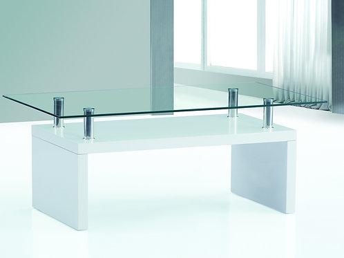 Hampton White High Gloss Coffee Table