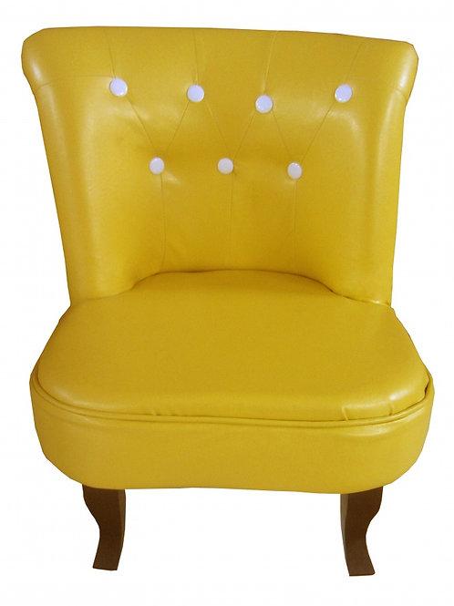 Orion Kids Sofa PU Yellow