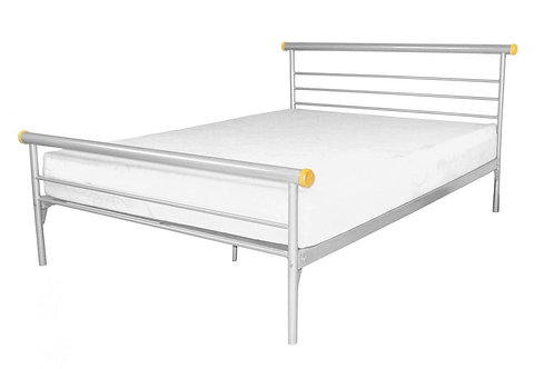Celine Bed King Size Silver
