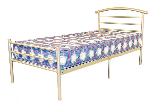 Brenington Single Bed Silver