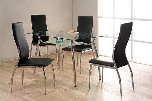 Lazio Dining Set 4 Chairs