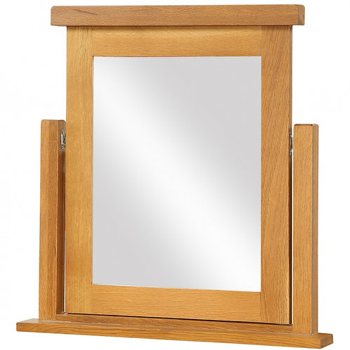 Acorn Solid Oak Dressing Table Mirror