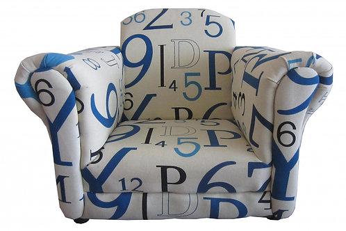 Barnaby Kids Sofa Fabric White