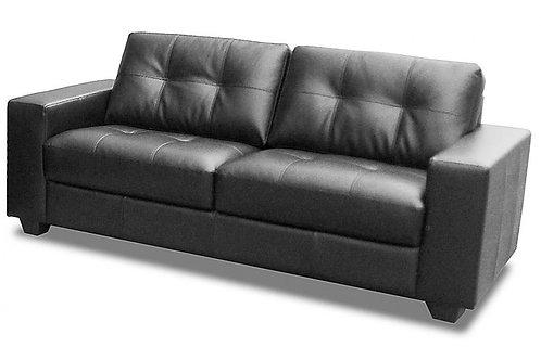 Lena Bonded Leather & PVC 3 Seater