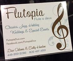 Flutopia weddings and lesson promo