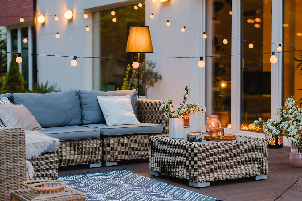summer-with-patio-with-wicker-furniture-