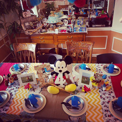 Vintage Mickey Mouse Aviator Party