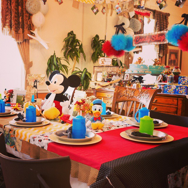 Vintage Mickey Mouse Birthday Party