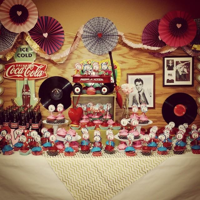 50s Valentine's Day Party