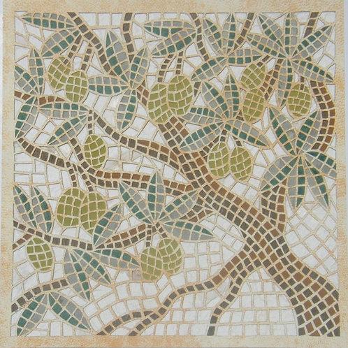 Mosaic - Olive - פסיפס זית
