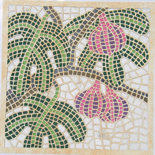 Mosaic cutout - Fig- פסיפס תאנה, חיתוך