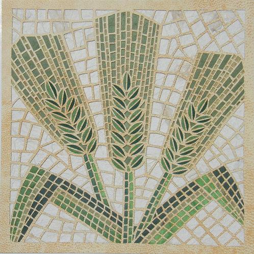 Mosaic cutout - Barley - פסיפס שעורה חיתוך