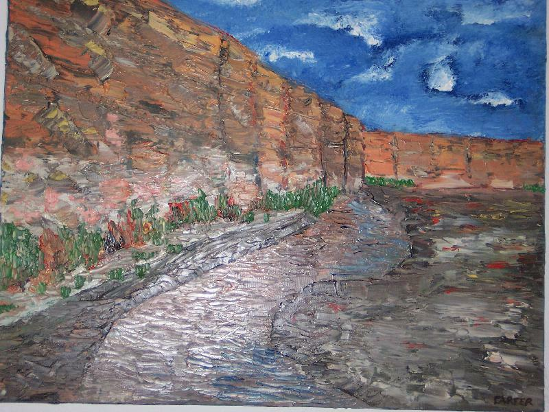 Cut Canyon, 16x20, $250