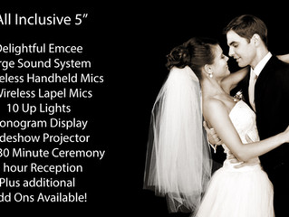 """What does """"All Inclusive Weddings"""" mean?"""