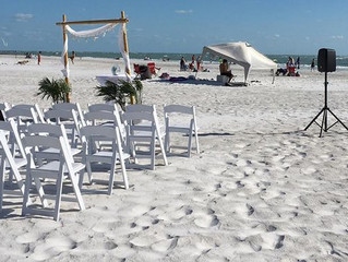 Beach Weddings with no Mess!