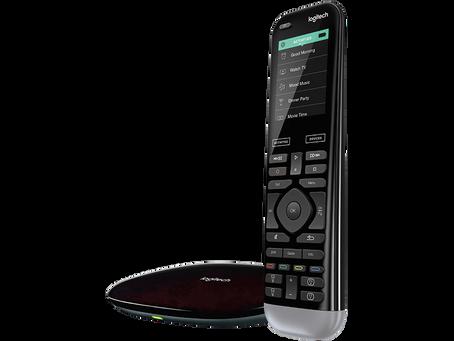 The Logitech Harmony Pro Remote