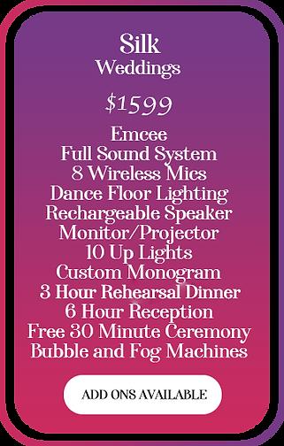 Climactic Entertainment DJ Service is Wilmington NC best wedding dj with the best weddng deals near Leland NC. Climactic Entertainment DJ Service services Wilmington NC, Leland NC, Wallace NC, Southport NC, Oak Island NC, Figure Eight Island NC, Ocean Isle Beach NC, Hampstead NC, Surf City NC, Topsail NC and Jacksonville NC.