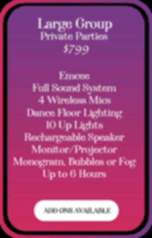 Best DJ Service near Wilmington NC and Leland NC for wedding dj service, corporate dj, an private party dj. Climactic Entertainment DJ Service services Wilmington NC, Leland NC, Wallace NC, Southport NC, Oak Island NC, Figure Eight Island NC, Ocean Isle Beach NC, Hampstead NC, Surf City NC, Topsail NC and Jacksonville NC.