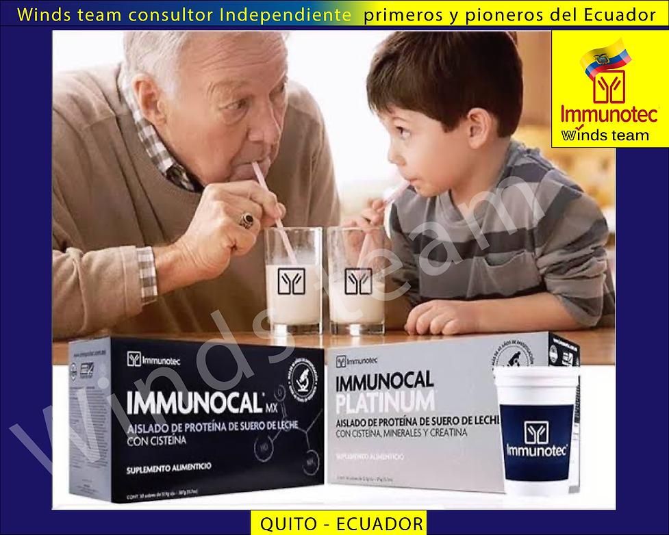 Immunotec-Ecuador Immunocal