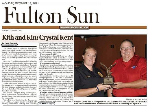CKent Sept 2021 Fulton Sun.jpg