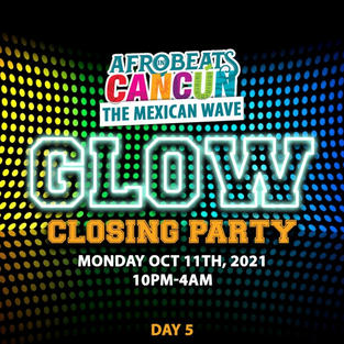 Glow closing party