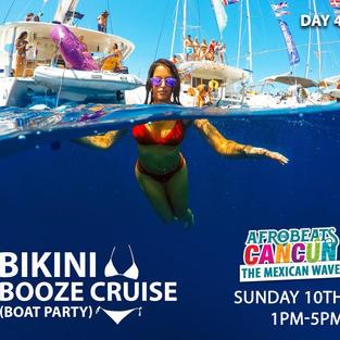 Bikini booze cruise