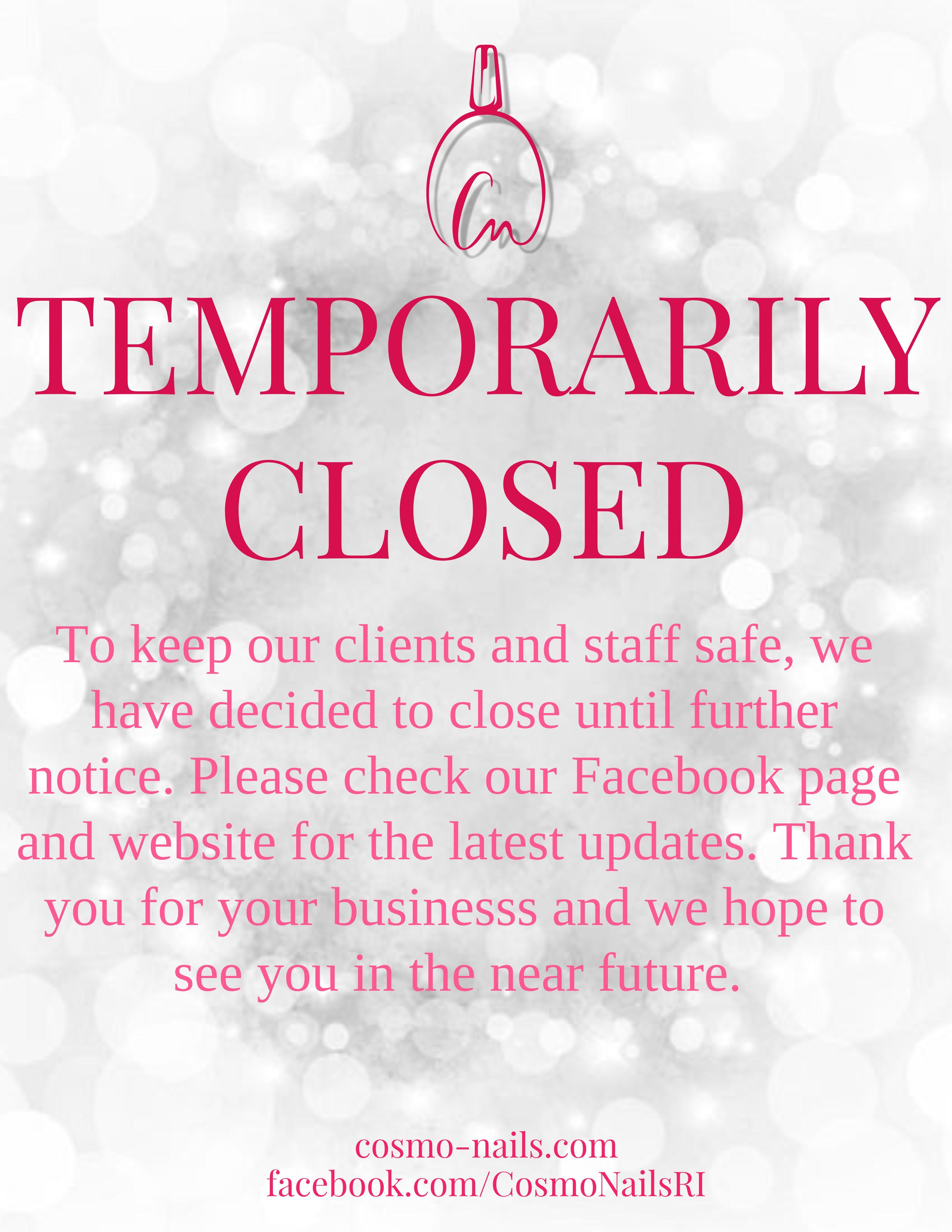 temp closing