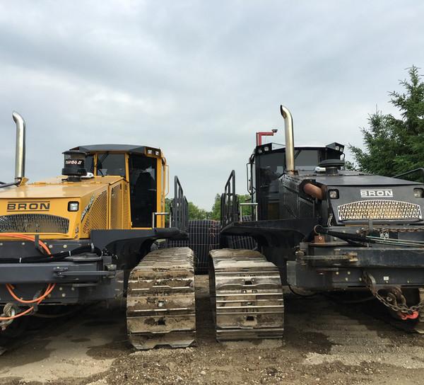 Bron drainage plows