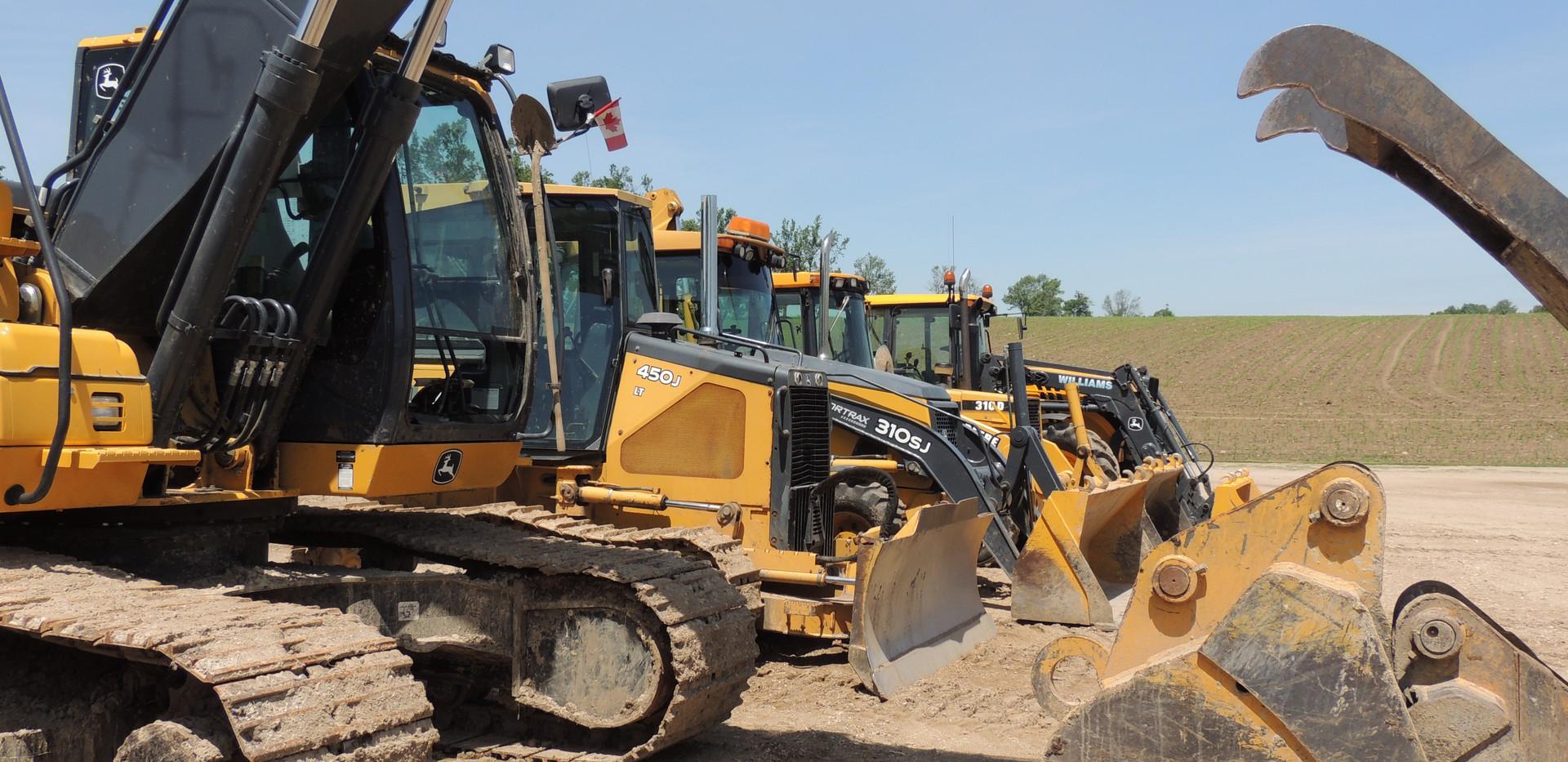 excavators - williams drainage