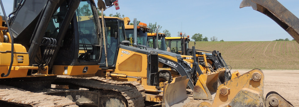 excavators - williams drainage