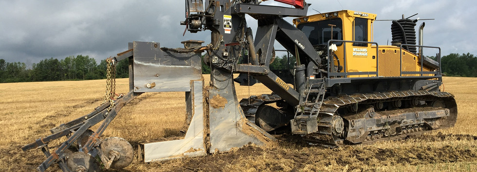 bron drainage plow - agricultural drainage