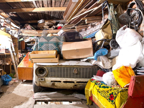 Once clutter starts, it can slowly take over your home, creeping into every room.